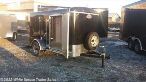 "New 2017 Cargo Mate  5' x 10' x 5'4"" Enclosed Trailer w/ Ramp For Sale by White Spruce Trailer Sales available in Anchorage, Alaska"