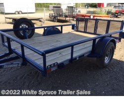 "#2PSAL10-77-85456 - 2017 Diamond C 6'5"" X 10' UTILITY SINGLE 3500# AXLE"