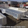 "White Spruce Trailer Sales 2018 81"" X 14' ALL ALUMINUM UTILITY  Utility Trailer by Aluma 