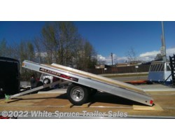 #8605-66647 - 2018 Aluma 5' SINGLE PLACE SNOW TRAILER