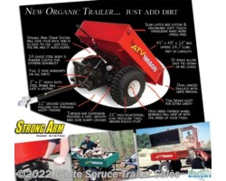#800UT-160051 - 2017 Bosski 800# GVWR Single Axle Utility Trailer Mea