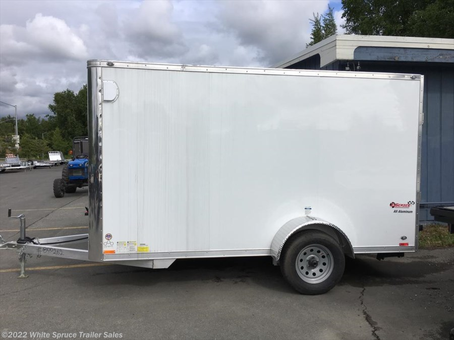 2017 Cargo Mate  6' X 12' ALL ALUMINUM ENCLOSED