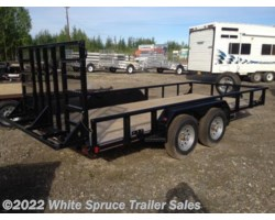 #14TUTL16-87324 - 2017 Diamond C 16' UTILITY 10K WITH HEAVY DUTY RAMP