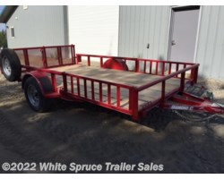 "#2PSAL14Q-87267 - 2017 Diamond C 83"" X 14' UTILITY W/ SIDE LOADING RAMPS"