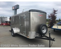 "#BL512-464648 - 2017 Cargo Mate  5' X 12' X 5'4"" ENCLOSED TRAILER W/ RAMP"