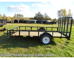 "#35SA14-76387 - 2017 Big Tex 77"" X 14' UTILITY W/ 3500# AXLE"