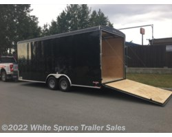 "#BL820TA3-466643 - 2018 Cargo Mate  8.5' X 20' X 7'7"" ENCLOSED W/ RAMP 10K"