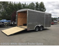 "#BL816TA3-467329 - 2018 Cargo Mate  8.5' X 16' X 7'7"" ENCLOSED W/ RAMP 10K"