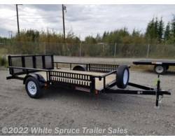 "#UT8312Q-00022 - 2018 Midsota 83"" X 12' UTILITY WITH SIDE RAIL RAMPS"