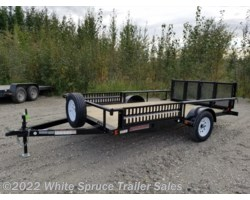 "#UT8312Q-00024 - 2018 Midsota 83"" X 12' UTILITY WITH SIDE RAIL RAMPS"