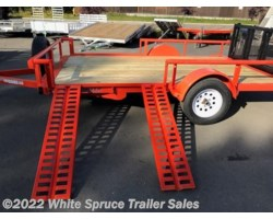 "#UT8312Q-00028 - 2018 Midsota 83"" X 12' UTILITY WITH SIDE RAIL RAMPS"