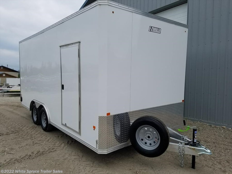 2017 Mission Trailers 8' X 18' ALL ALUMINUM ENCLOSED 7K