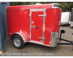 "#BL58-467336 - 2018 Cargo Mate  5' X 8' X 5'4"" ENCLOSED CARGO W/ BARN DOO"