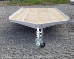 #861213-70078 - 2018 Aluma 12' All Aluminum Snowmachine Trailer