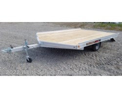 #861213-70081 - 2018 Aluma 12' All Aluminum Snowmachine Trailer