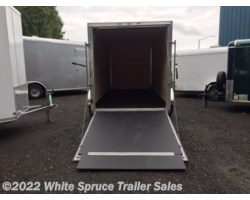 "#EHWA612SA-800265 - 2017 Cargo Mate  6' X 12' X 5'10"" ALL ALUMINUM ENCLOSED"