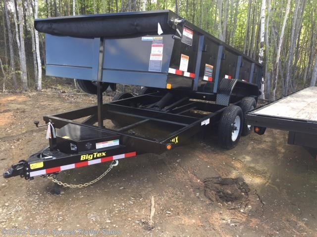 "2017 Big Tex 83"" x 14' Low Profile Dump Trailer, 14K"