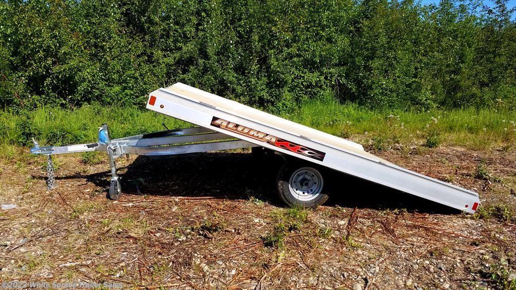 Snowmobile Trailer Axles : New aluma snowmobile trailer classifieds