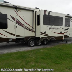 2015 Forest River Vengeance L12  - Toy Hauler New  in Slinger WI For Sale by Scenic Traveler RV Centers call 800-568-2210 today for more info.