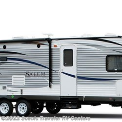 Stock Image for 2016 Forest River Salem T27DBUD (options and colors may vary)