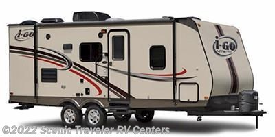 Stock Image for 2012 EverGreen RV I-Go Lite G236RBK (options and colors may vary)