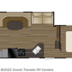 2017 Heartland RV Trail Runner TR 29 MSB floorplan image