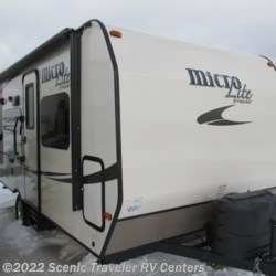 2015 Forest River Flagstaff Micro Lite 19RB  - Travel Trailer New  in Slinger WI For Sale by Scenic Traveler RV Centers call 800-568-2210 today for more info.