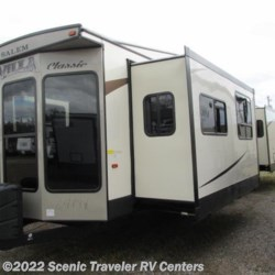 2016 Forest River Salem Villa 353FLFB VILLA CLASSIC  - Destination Trailer New  in Slinger WI For Sale by Scenic Traveler RV Centers call 800-568-2210 today for more info.
