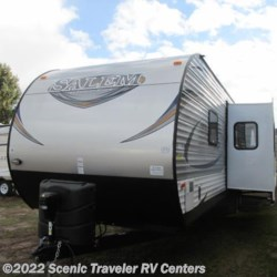 2016 Forest River Salem 31 BKIS  - Travel Trailer New  in Slinger WI For Sale by Scenic Traveler RV Centers call 800-568-2210 today for more info.