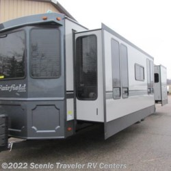 2016 Heartland RV Fairfield FF 401 FK  - Destination Trailer New  in Baraboo WI For Sale by Scenic Traveler RV Centers call 877-898-7236 today for more info.