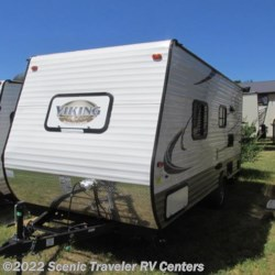 2017 Coachmen Viking 17FQ  - Travel Trailer New  in Baraboo WI For Sale by Scenic Traveler RV Centers call 877-898-7236 today for more info.
