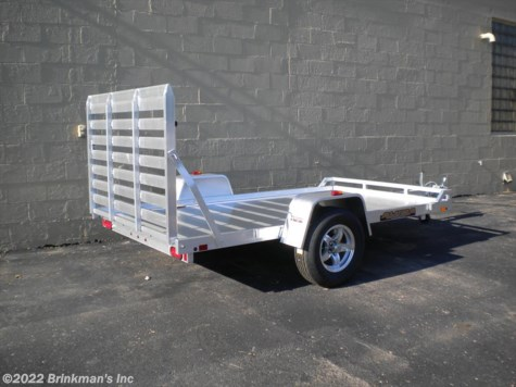 "New 2017 Aluma 6810H 68"" x 10' H  Rear ramp For Sale by Brinkman's Inc available in Delano, Minnesota"