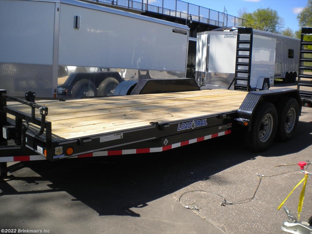 "Delano Car Dealers >> New Load Trail Car Hauler Trailer Classifieds | 2016 Load Trail 83""x20' bobcat/car hauler Car ..."