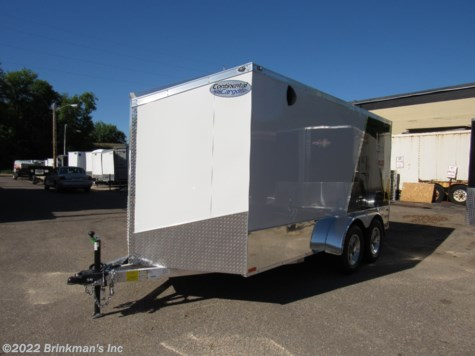New 2019 Continental Cargo 7x14 V Nose For Sale by Brinkman's Inc available in Delano, Minnesota