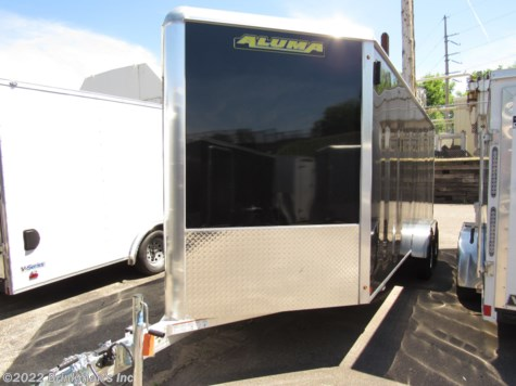 New 2019 Aluma AE718TA 7x18  v nose For Sale by Brinkman's Inc available in Delano, Minnesota