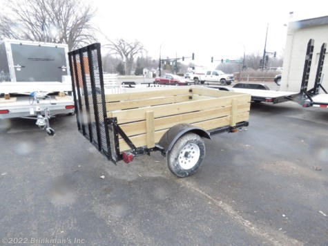 New 2019 Carry-On 5x8 with wood sides For Sale by Brinkman's Inc available in Delano, Minnesota