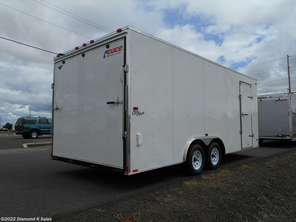 New Pace American Outback Car Hauler Trailer Classifieds