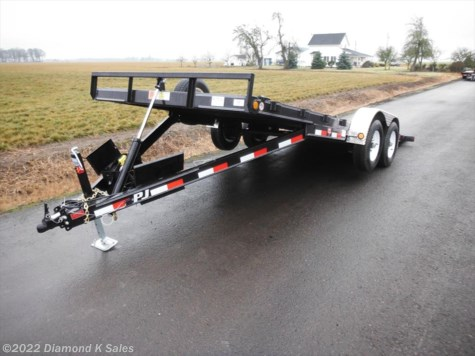 2018 PJ Trailers Tilt  TH18-10K QUICK TILT