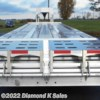 "Diamond K Sales 2018 Custom 102""X35' FLATBED GOOSENECK  Flatbed/Flat Deck (Heavy Duty) by EBY 