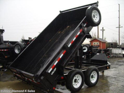 2018 PJ Trailers Dump  DL712 Low-pro