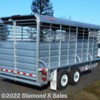 "2017 Banens Cattleman 16' L X 6'8"" W X 7' T  - Livestock Trailer New  in Halsey OR For Sale by Diamond K Sales call 541-369-2755 today for more info."