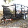 New 2018 PJ Trailers Dump DM14 14K Low Pro For Sale by Diamond K Sales available in Halsey, Oregon