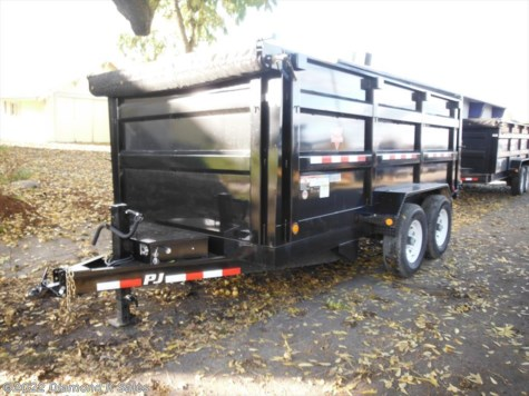 2018 PJ Trailers Dump  DM14 14K Low Pro