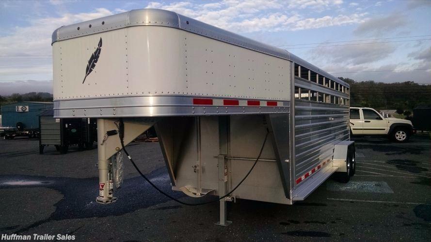 Rv Dealers In Va >> Livestock Trailer for sale | New 2018 Featherlite Model 8117 20ft Aluminum Cattle Trailer | VA ...