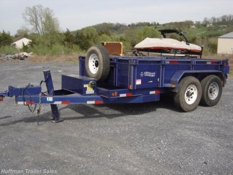 2008 Titan Trailers  10 ft Dump Trailer Rental