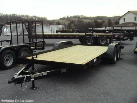 2017 Better Built  15+3=18' BETTER BUILT- CAR HAULER-Bar up Ramps