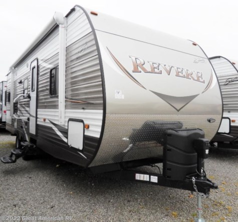 New 2017 Shasta Revere 27BH For Sale by Sherman RV Center available in Sherman, Mississippi