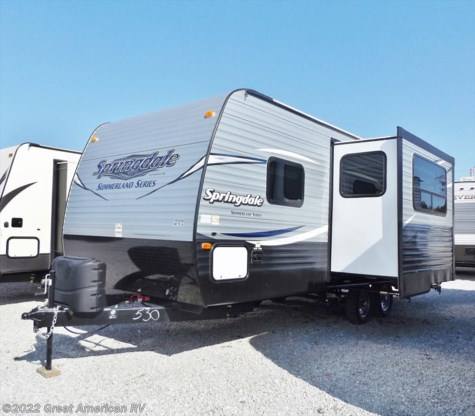 New 2017 Keystone Springdale Summerland 2200MB For Sale by Sherman RV Center available in Sherman, Mississippi