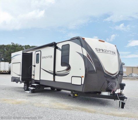 New 2018 Keystone Sprinter Wide Body 312MLS For Sale by Sherman RV Center available in Sherman, Mississippi