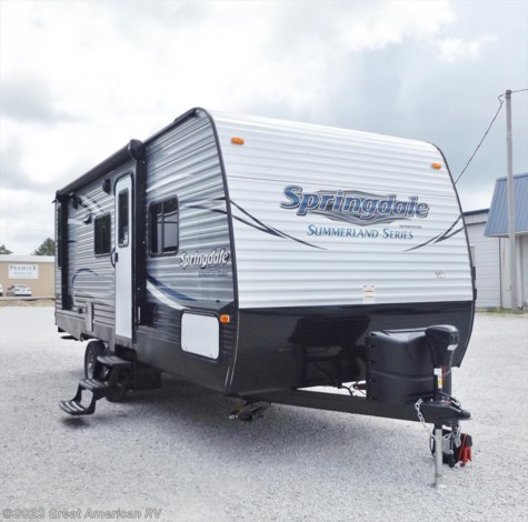 New 2018 Keystone Springdale Summerland 2020QB For Sale by Sherman RV Center available in Sherman, Mississippi